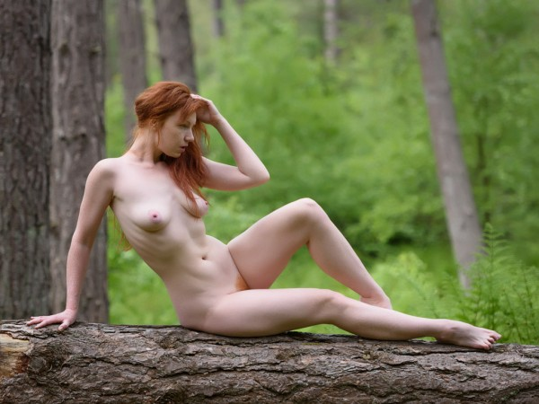 Chrissie in the Woods